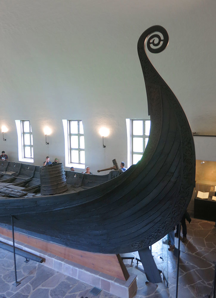 The Viking Ship Museum in Oslo, Norway - Photo by Hideaway Report editor