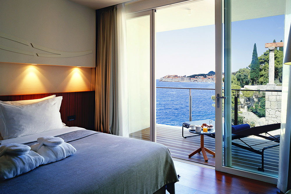 A Standard Suite at Villa Dubrovnik in Dubrovnik, Croatia