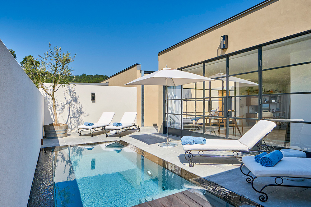 The Two-bedroom Pool Villa Suite at Villa La Coste in Provence, France
