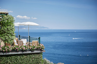 The Waterfront View at Belmond Hotel Splendido in Italian Riviera, Italy