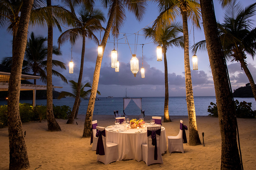 A Wedding at Carlisle Bay in Antigua, Caribbean