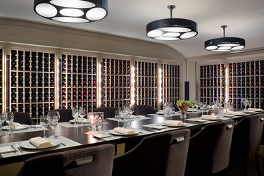 The Wine Cellar at Wheatleigh in Lenox, Massachusetts