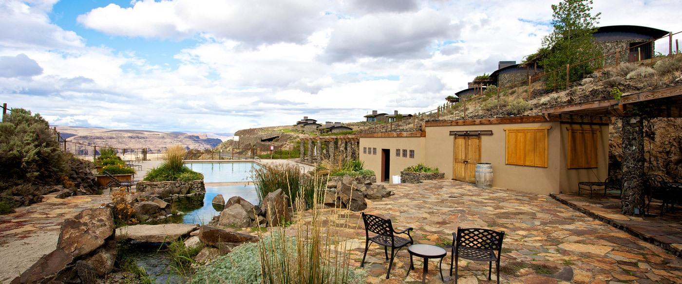 Cave B Inn Spa Resort Luxury Hotel In Washington Wine Country